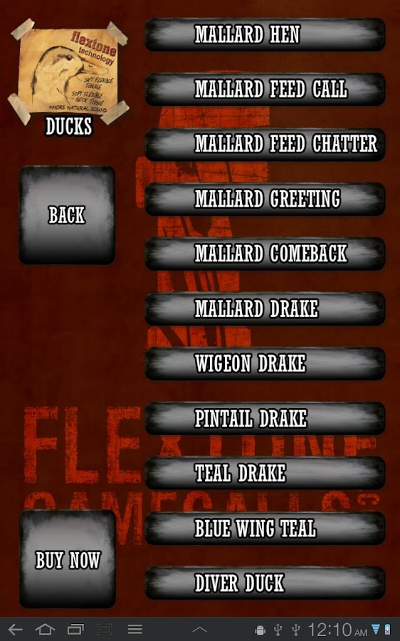 Flextone Game Calls - screenshot