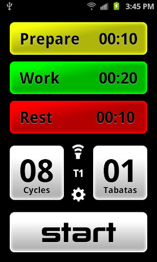 Tabata Pro - Tabata Timer screenshot 1