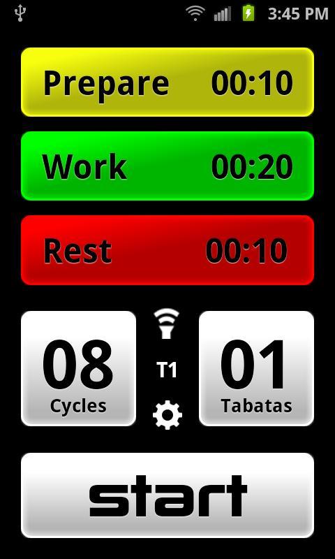 Tabata Pro - Tabata Timer- screenshot