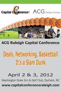 ACG Raleigh- screenshot thumbnail