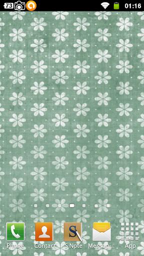 個人化必備APP下載 Grungy Flower Wallpapers 好玩app不花錢 綠色工廠好玩App