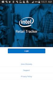 Intel® Retail Tracker screenshot