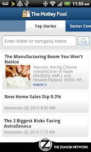 The Motley Fool - screenshot thumbnail