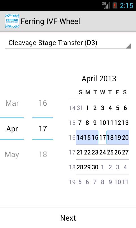 Due date calculator iui