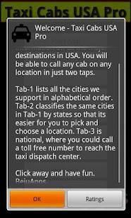 Taxi Cabs USA- screenshot thumbnail