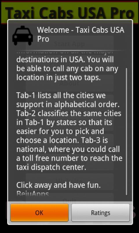 Taxi Cabs USA- screenshot