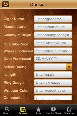 Cigar Finder- screenshot