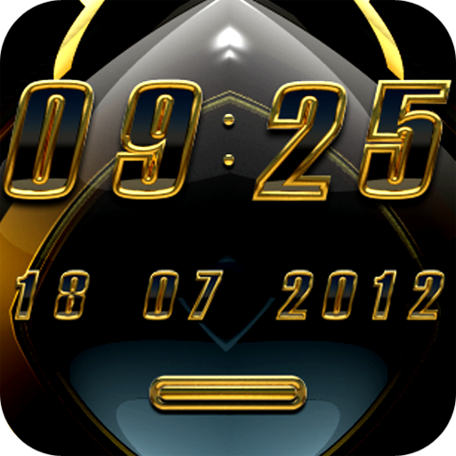 Aviena digital Clock Widget LOGO-APP點子
