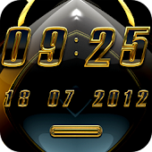 Aviena digital Clock Widget