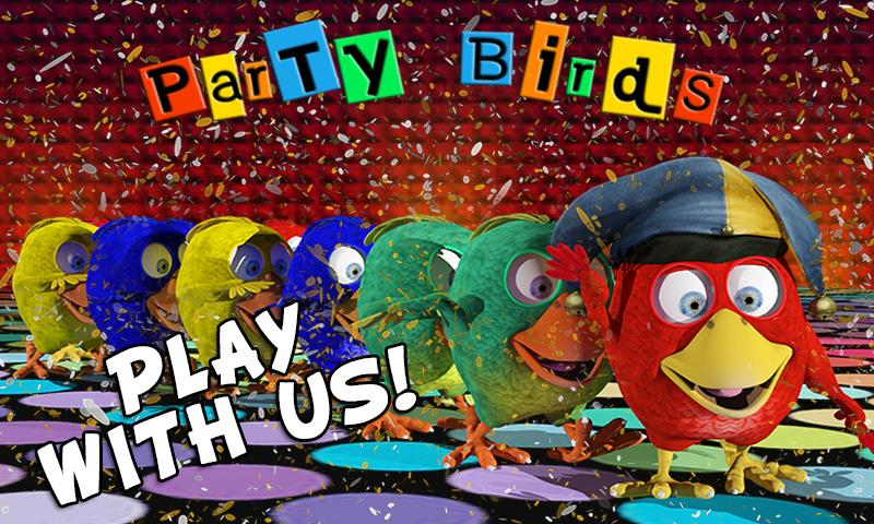 Party Birds: 3D Snake Game Fun - screenshot