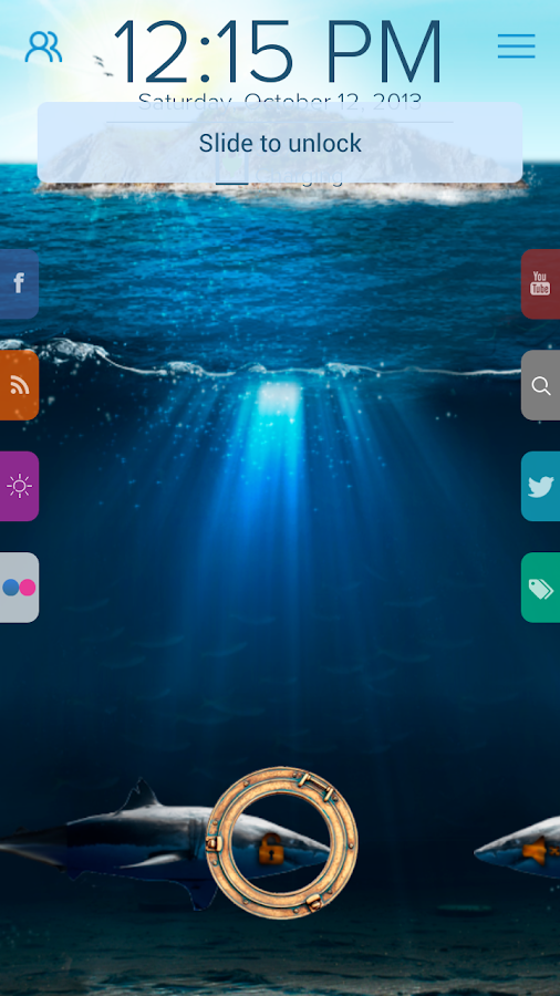 Deep Sea - Start Theme - screenshot