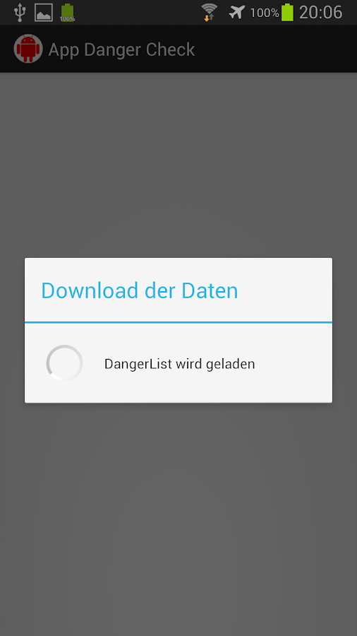 App Danger Check- screenshot