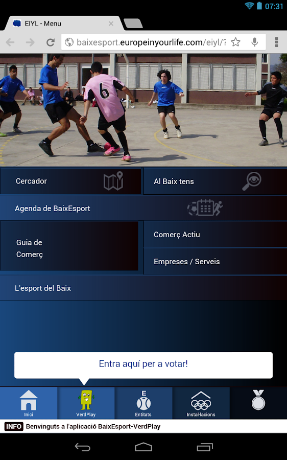 BaixEsport-VerdPlay- screenshot