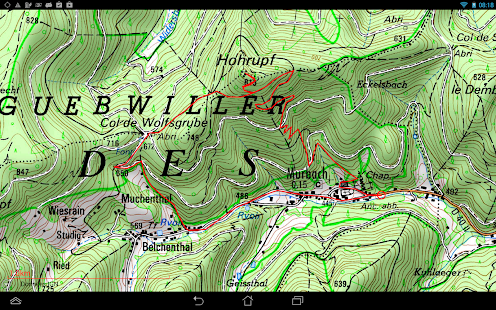 Visorando GPS randonnée 17