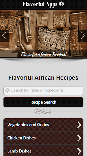 African Recipes - Premium