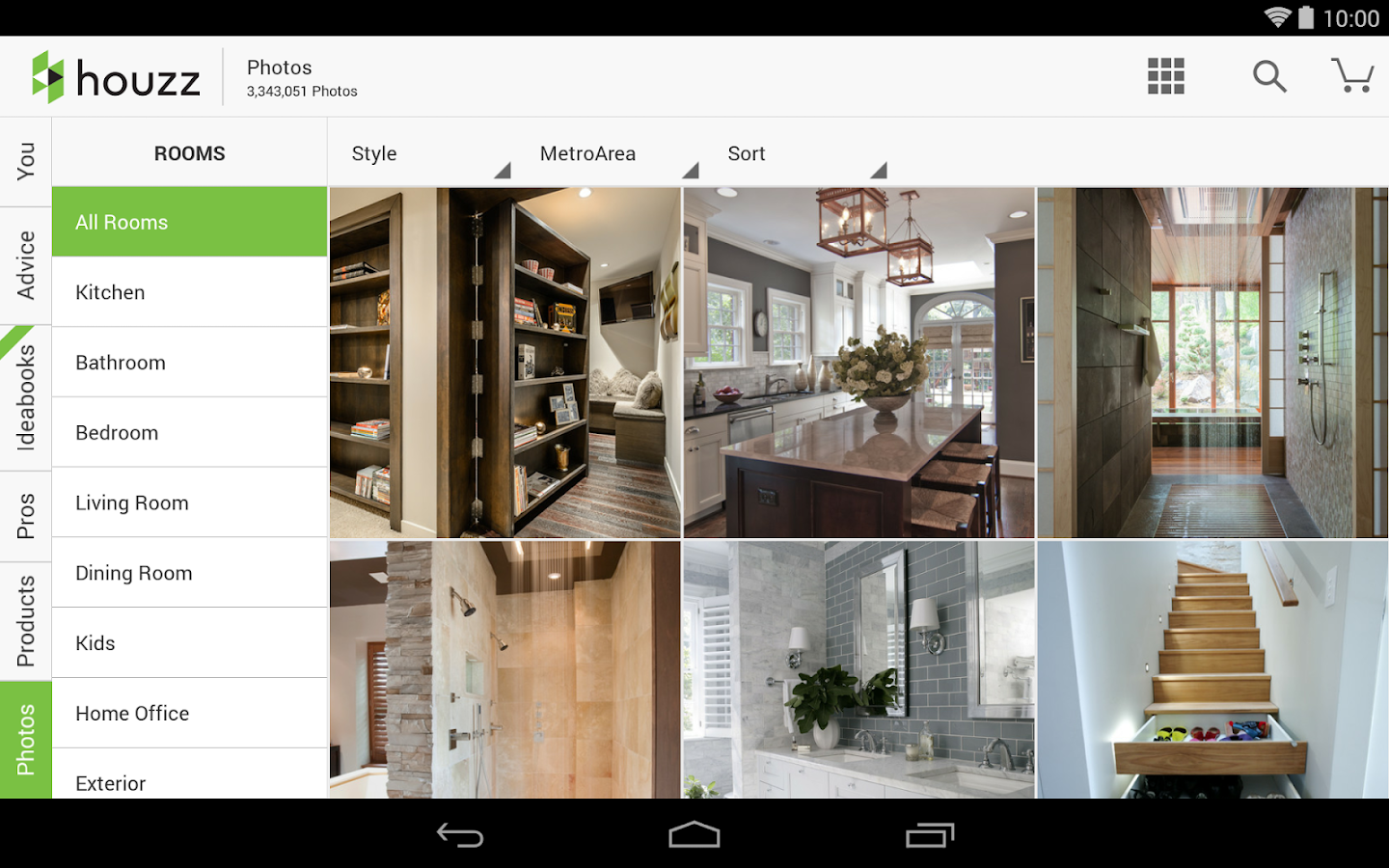 Houzz interior design ideas screenshot House interior design ideas app