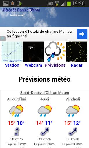 Météo St Denis d'Oléron