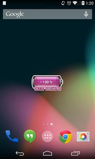 [Battery Theme] Bubbles Pink