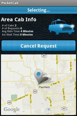 PocketCab - Taxi and Limo app- screenshot