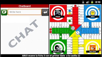 Screenshot of Parchis UsuParchis