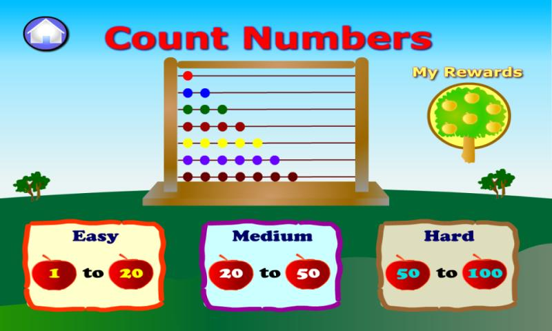 Preschool Numbers- screenshot
