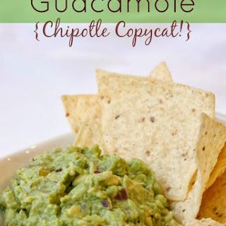 Guacamole {Chipotle Copycat!}