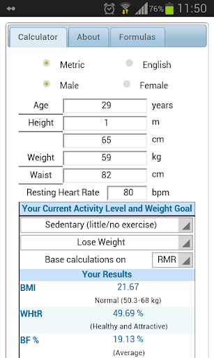 Fitness Calc Extended -Free-