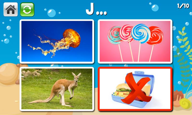 Learnalicious Sight Words Game- screenshot