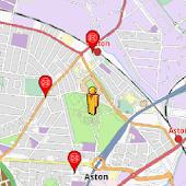 Birmingham Amenities Map(free)