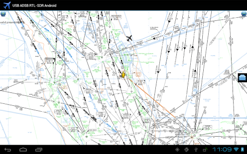 ADS-B on USB SDR RTL - screenshot thumbnail