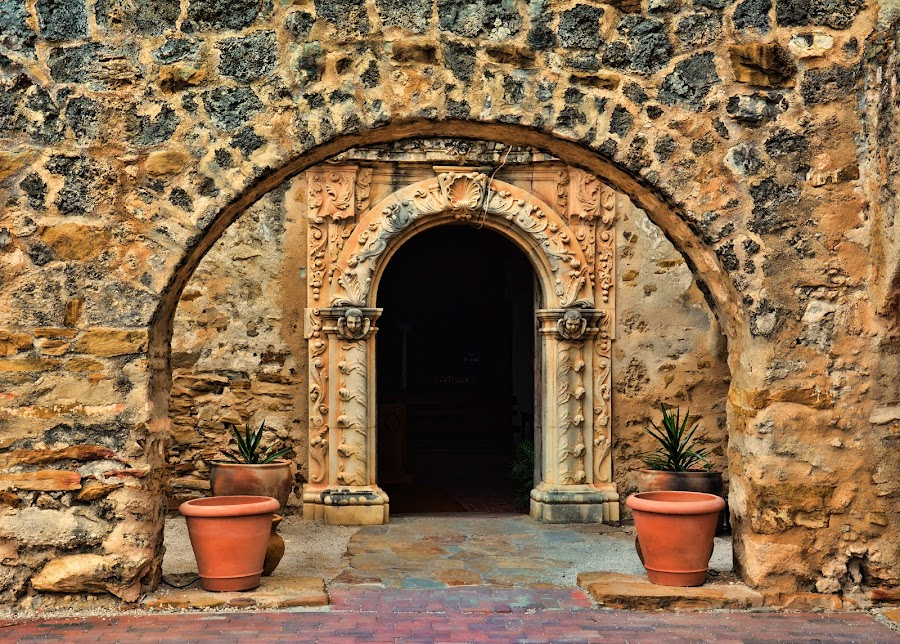 Mission San Jose by Sandra Maldonado - Buildings & Architecture Public & Historical ( mission san jose, mission, texas, san antonio )