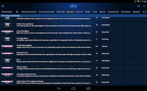 Sky+ - screenshot thumbnail