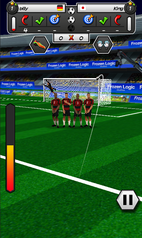 Soccer Free Kicks 2- screenshot