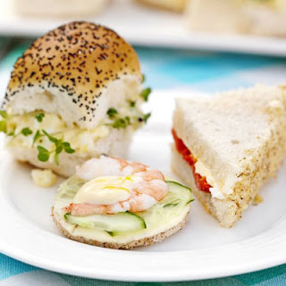 Selection Of Summer Sandwiches