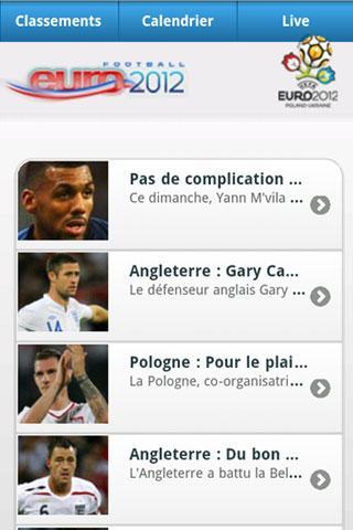 Euro 2012- screenshot