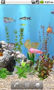 aniPet Freshwater Aquarium LWP Screenshot 5
