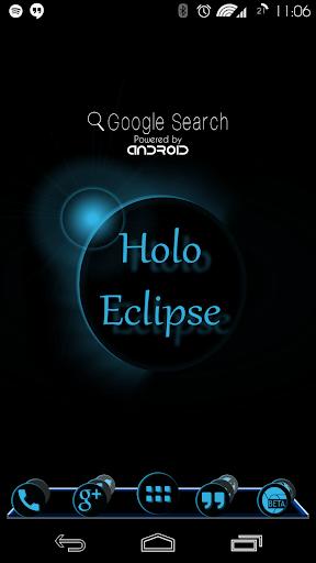 Holo Eclipse Launcher Theme