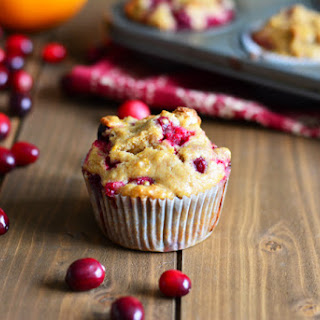 Cranberry Orange Muffin.