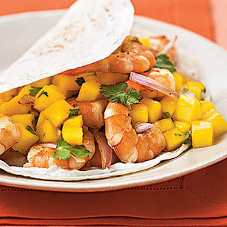 Shrimp Soft Taco With Mango Lime Salsa