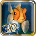 Goldfish Swim In Phone LWP icon