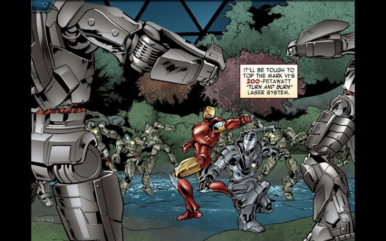 The Avengers-Iron Man Mark VII Screenshot