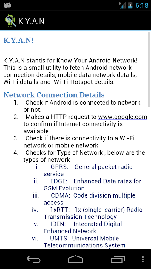 Know-Your-Android-Network 17