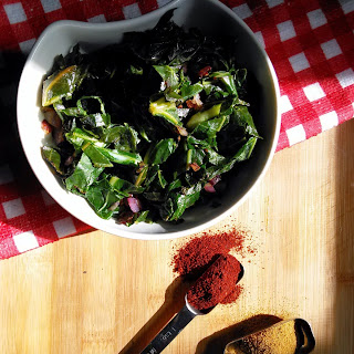 Greens with Cumin and Paprika Recipe