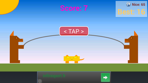 Cat Jumping Rope