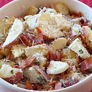 Lemon- Basil Roasted Potato Salad.