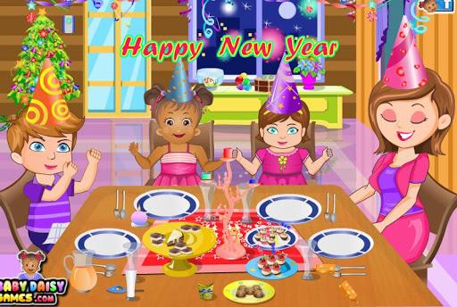 Baby Daisy New Year Party 1.2.0 screenshots 12