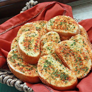 Easy Garlic Bread.
