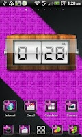 Screenshot of THEME - Purple Zebra Butterfly