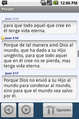 Biblia para Moviles (Español) - screenshot