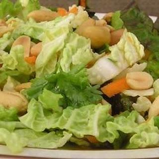 Napa Cabbage Salad with Lemon-Pistachio Vinaigrette
